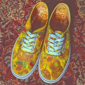 Vans Shoes - 🌻 Vans x Van Gogh Sunflower Sneakers